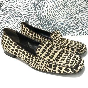 Kate Spade Giraffe Print Loafers Size 9